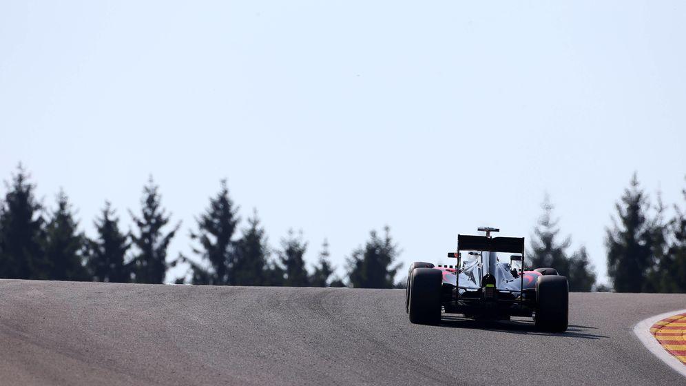 Foto: Fernando Alonso en Spa (Imago).