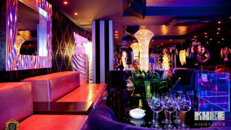 El interior de la discoteca Kube Marbella