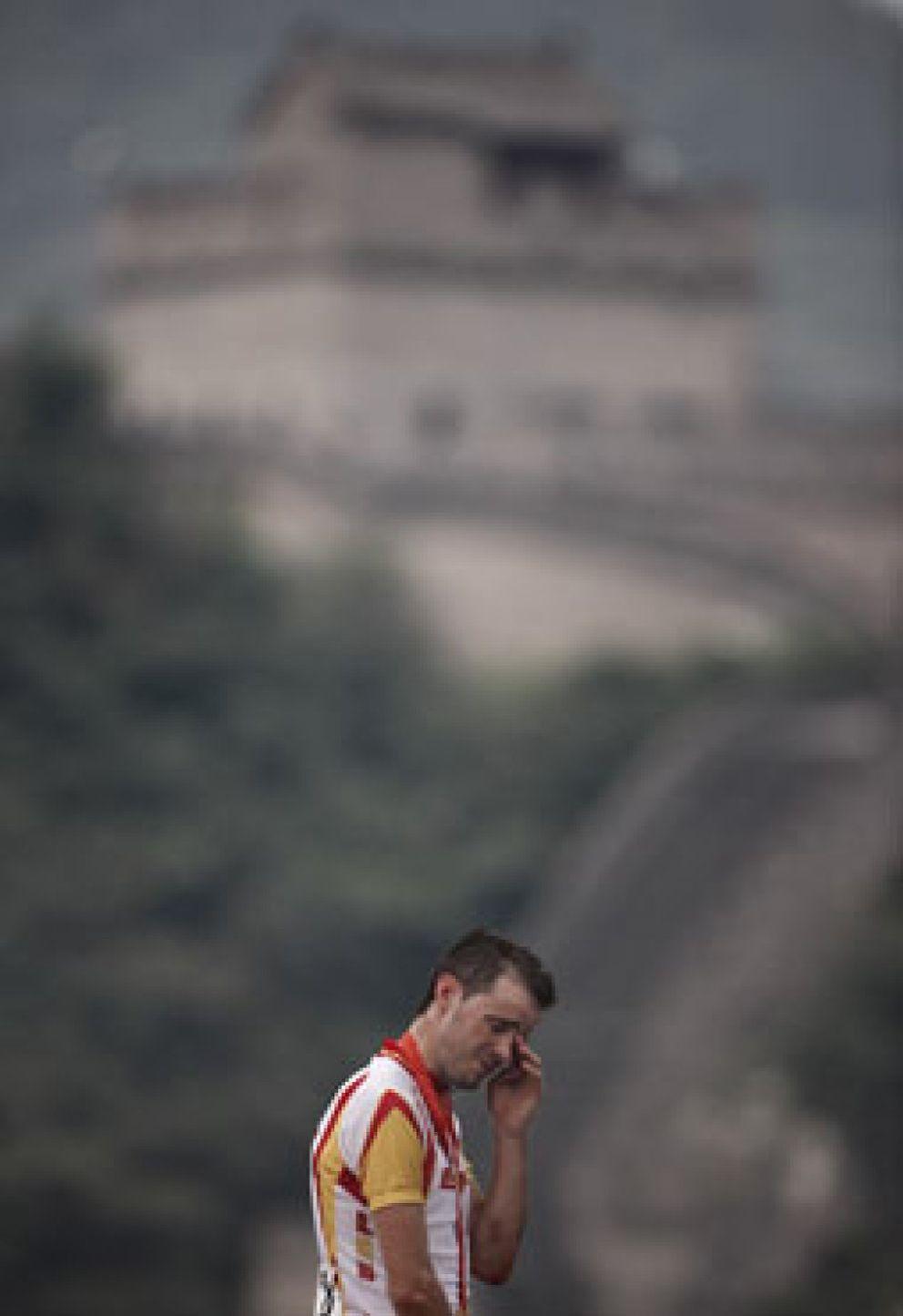 Foto: Samuel Sánchez, al Olimpo en el nombre de su madre