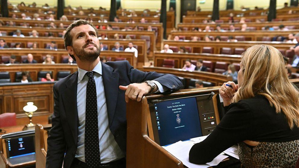 Casado: Sánchez no es capaz de gestionar su investidura