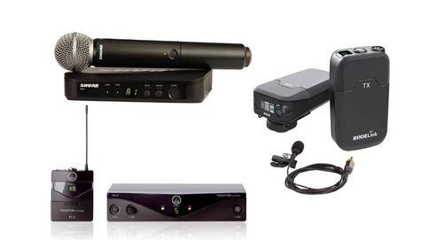 Los mejores micrófonos inalámbricos del mercado