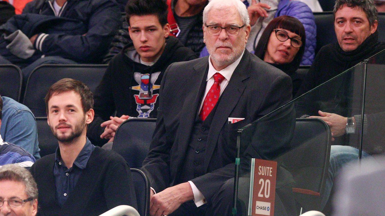 Foto: Phil Jackson, en un partido de los Knicks. (EFE)