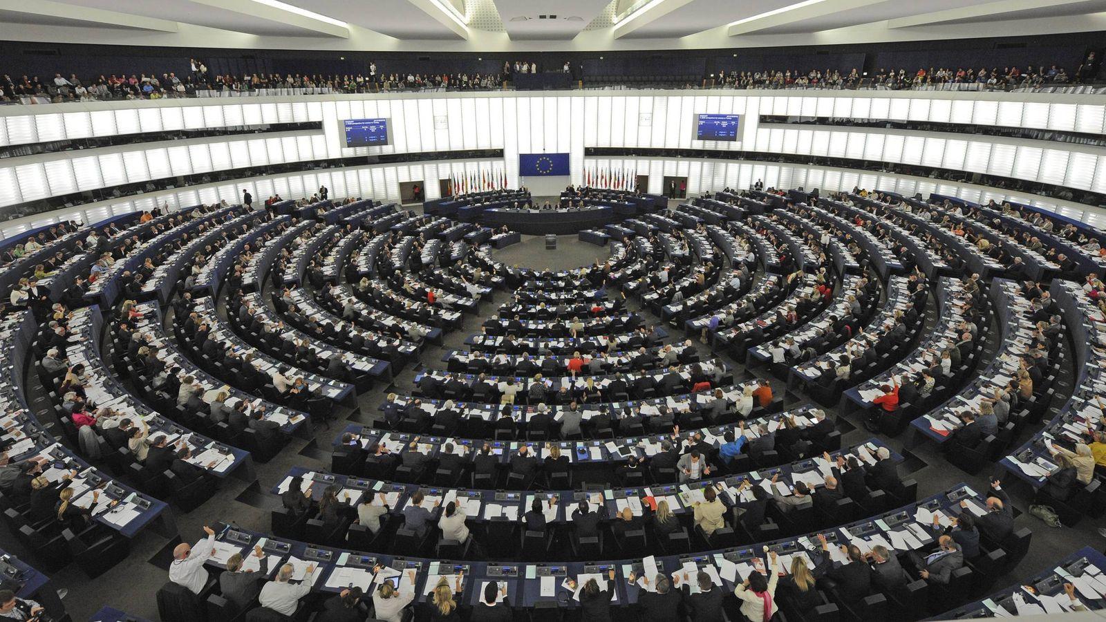 Foto: Vista general de la sede del Parlamento Europeo en Estrasburgo. (EFE)