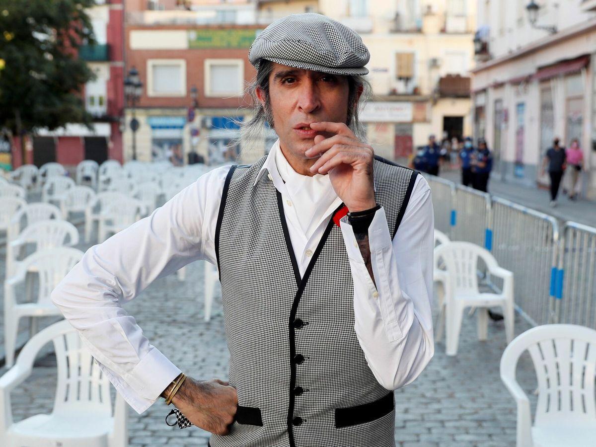 Foto: Mario Vaquerizo, pregonero de fiestas de verano de Madrid (EFE)