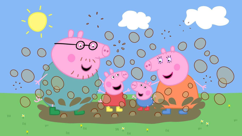 Foto: Imagen de los dibujos animados de Pepapig