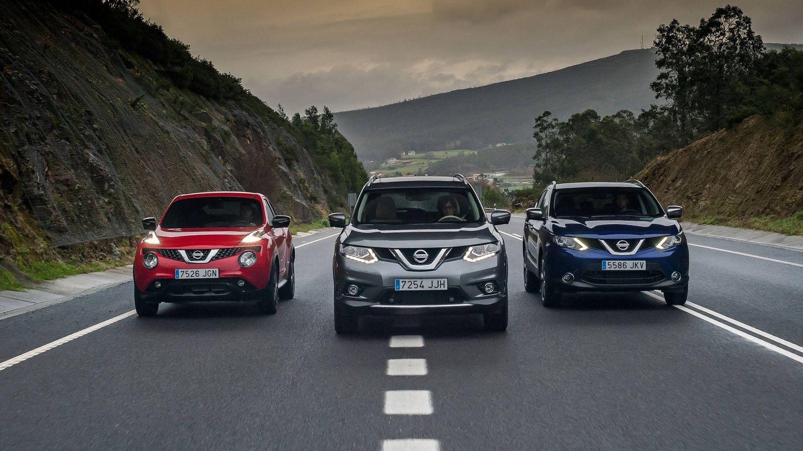 Foto: Un trío ganador de Nissan
