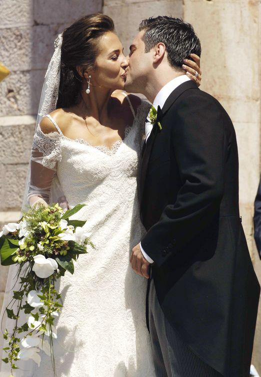 David y Paula se casaron en julio de 2006 en Covadonga