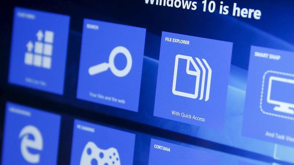Foto: Windows 10. (Reuters)