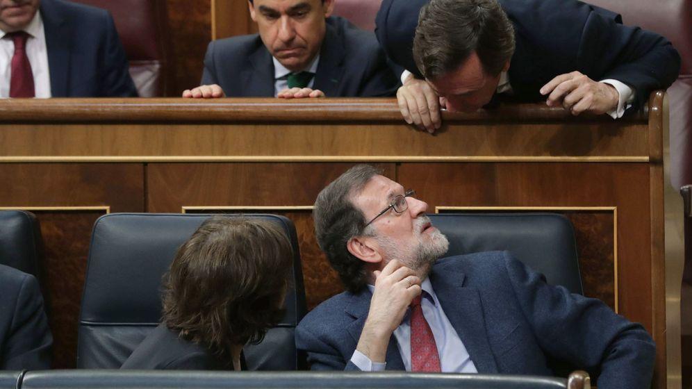 Foto: El presidente del Gobierno, Mariano Rajoy, en el Congreso (Efe)