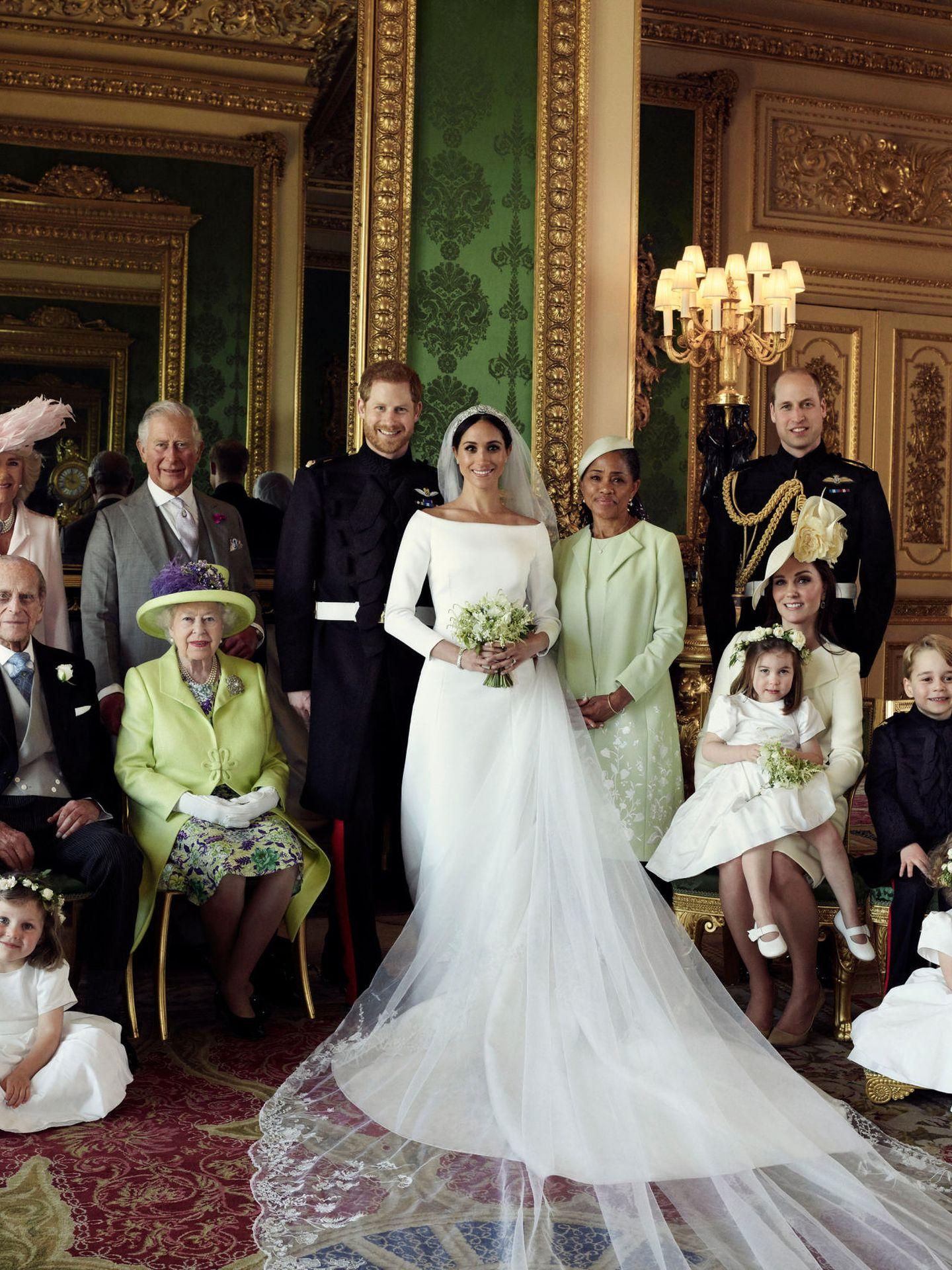 La boda de los duques de Sussex. (Reuters)