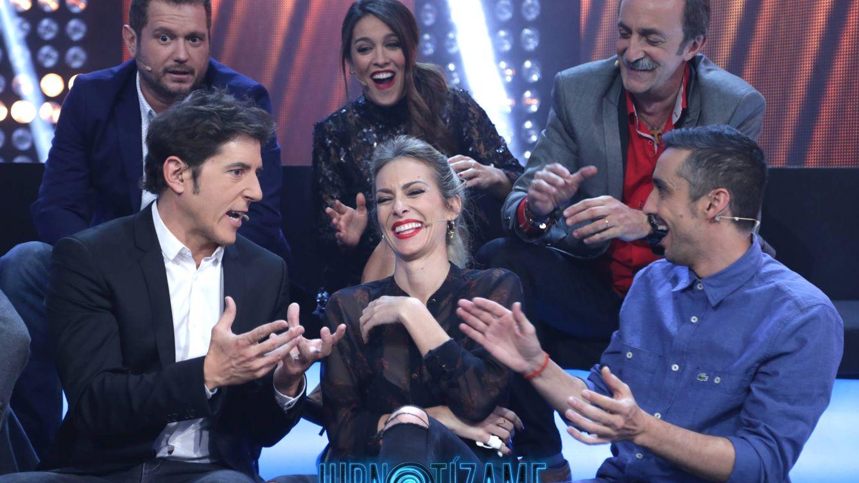 Foto: Los famosos participantes de la tercera gala de 'Hipnotízame' (Atresmedia)