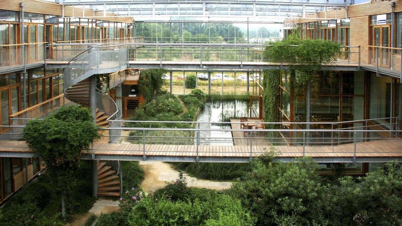 Foto: La arquitectura sostenible es una de las grandes protagonistas de la ciudad circular. (EFE)