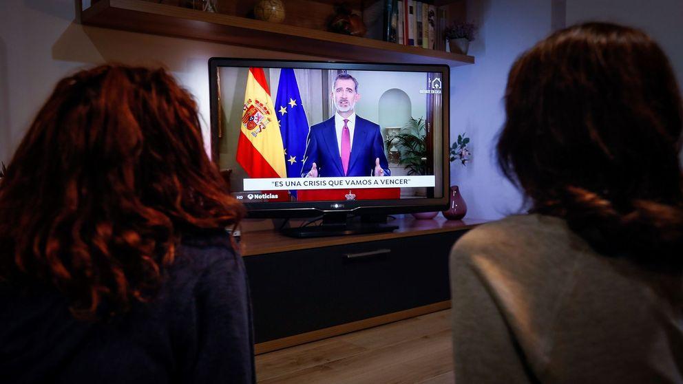 La tristeza del Rey y de España