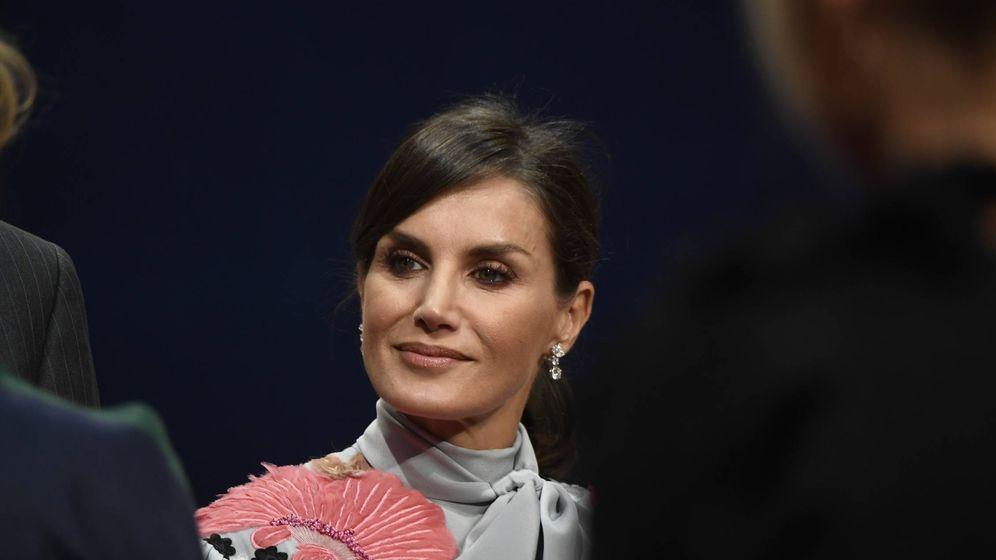 Foto: La reina Letizia, este viernes en Oviedo. (Limited Pictures)