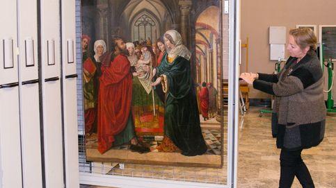 Museo de Zaragoza custodia una tabla de Sijena