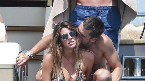 Laura Matamoros, al rico sol de Ibiza junto a su novio, Benji Aparicio