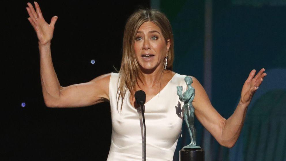Ejercicios sencillos para conseguir los tonificados brazos de Jennifer Aniston