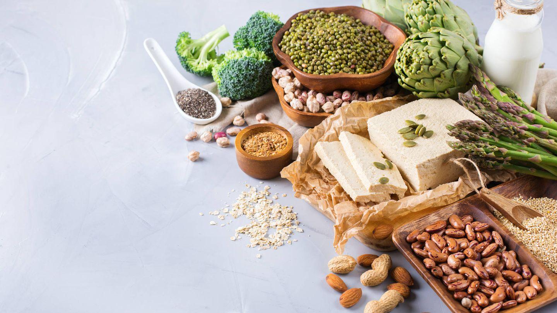 Diferentes fuentes de proteínas de origen vegetal. (iStock)