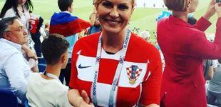 Post de La presidenta de Croacia, la 'aficionada' que se quita sueldo por animar a su país