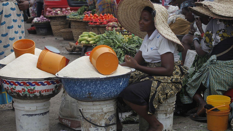 Mercado de comida en Nigeria. (Reuters)