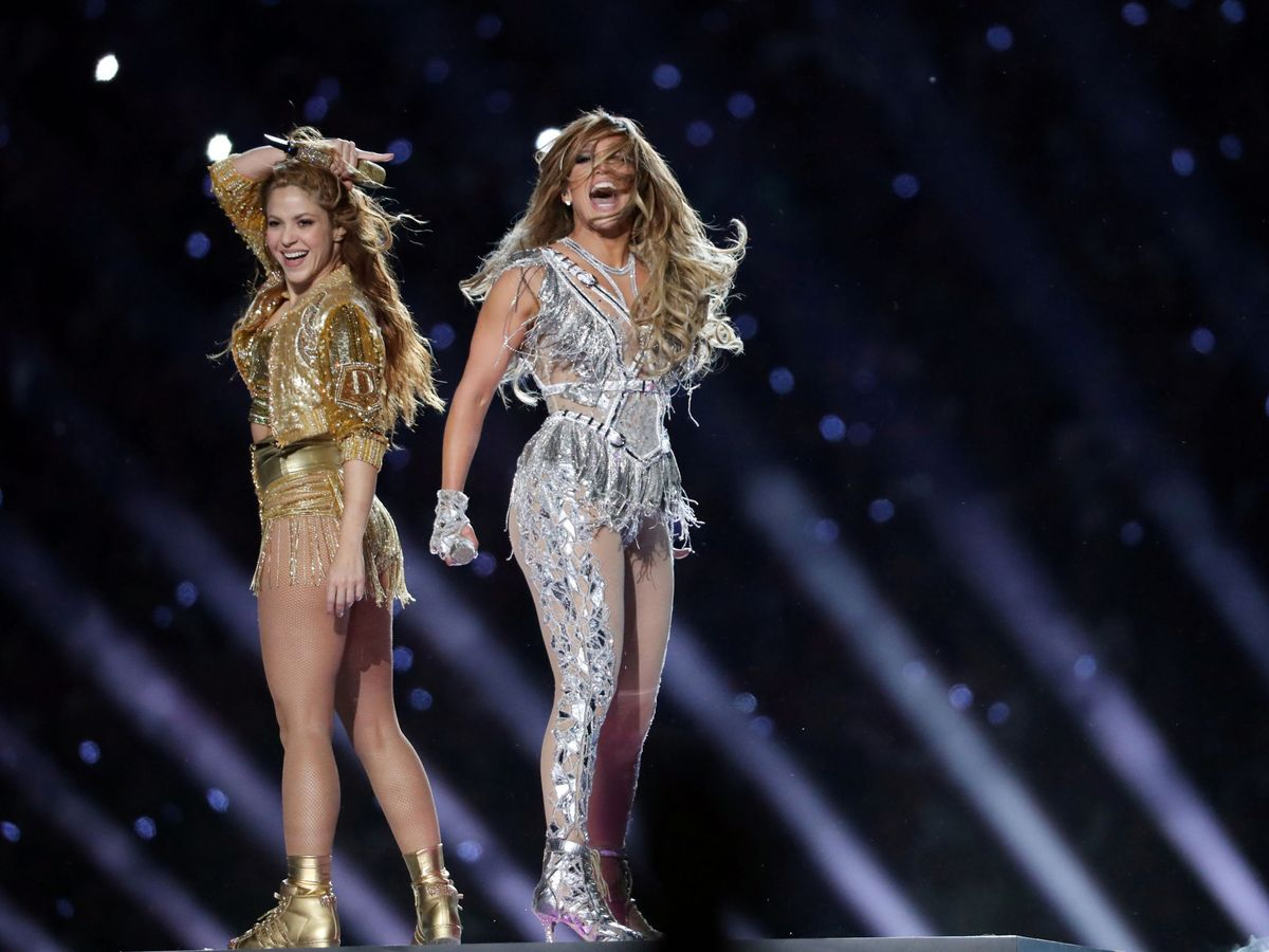 Foto: Shakira y JLo. (Reuters)