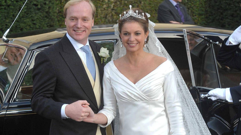 El príncipe con Annemarie. (CP)