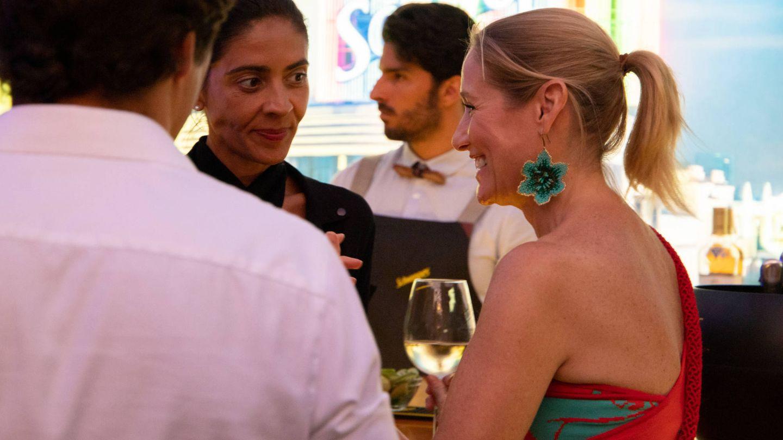 Fiona Ferrer durante la fiesta. (Starlite Team)