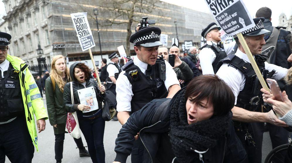 Foto: Los policías se infiltraban en diversos movimientos pero llevaron demasiado lejos su trabajo (Reuters/Simon Dawson)