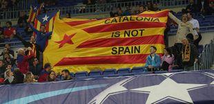 Post de El Camp Nou pide independencia y la dimisión de Bartomeu por su tibieza
