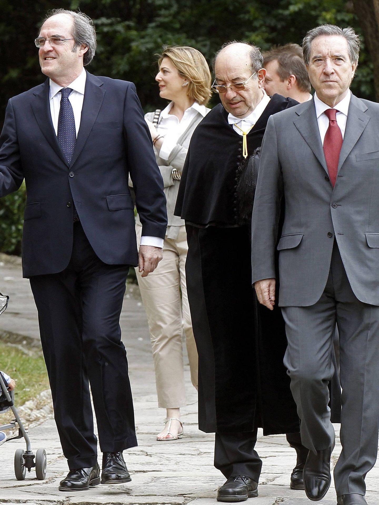Ángel e Iñaki Gabilondo, en una imagen de archivo. (EFE)