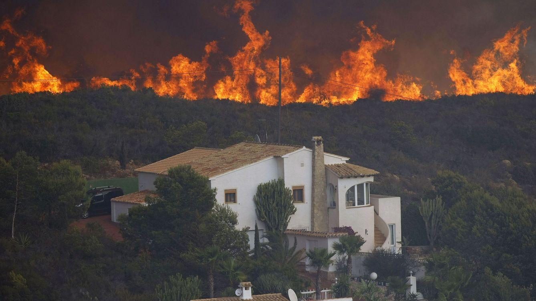 Foto: Incendio en Jávea