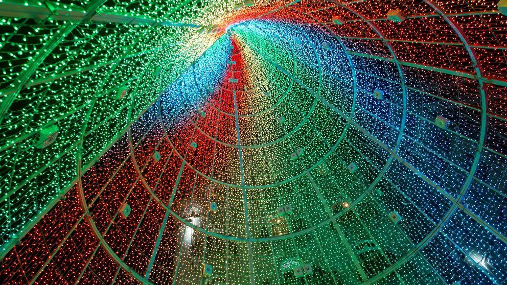 Vigo empieza mañana a montar sus luces de Navidad