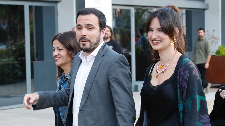 Alberto Garzón y Anna Ruiz, en una imagen de archivo de 2019. (EFE)