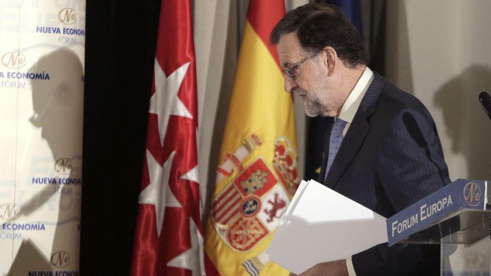 Foto: Mariano Rajoy presenta la candidatura de Alonso a las vascas