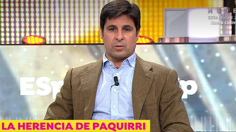 Fran Rivera, en 'Espejo público'. (Antena 3)