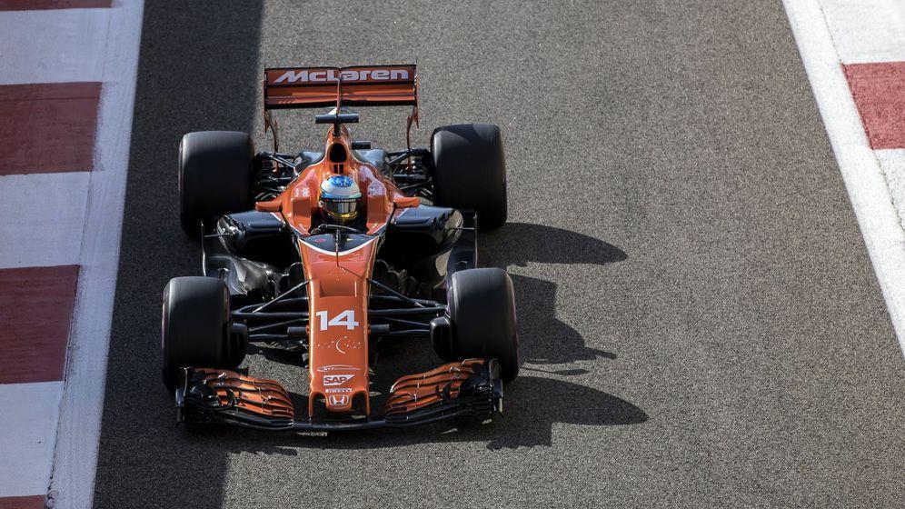 Foto: Fernando Alonso rozó la Q3 en el GP de Bélgica | Foto: Reuters