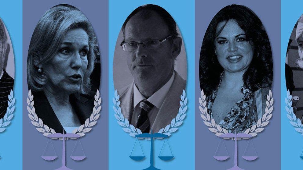 Bueyes, Saavedra, Pascual Vives... cara y cruz de los abogados de los famosos