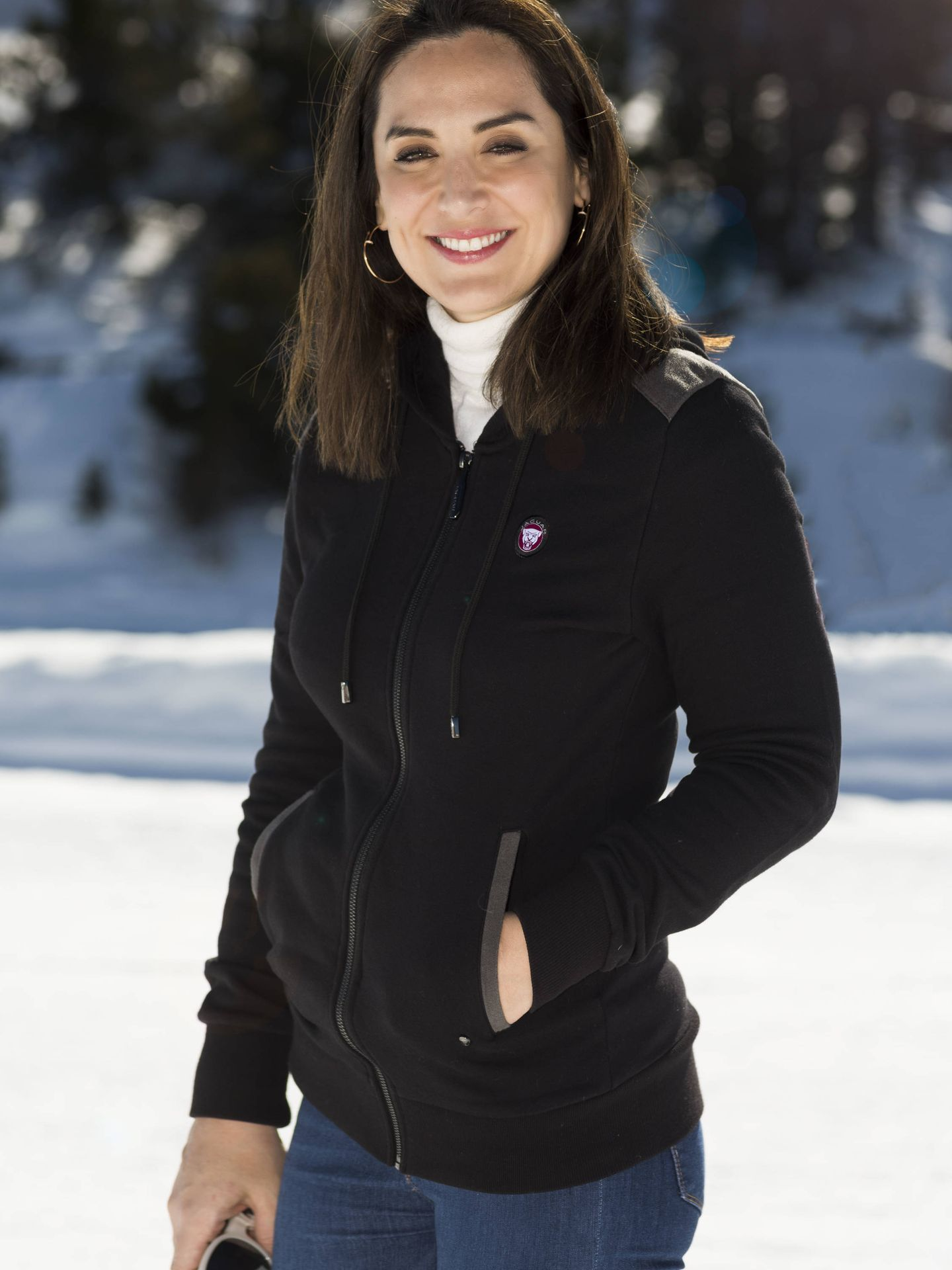 Tamara Falcó, en Andorra. (Fotógrafo: Carlos Herráiz / Maquillador: Yos Baute)