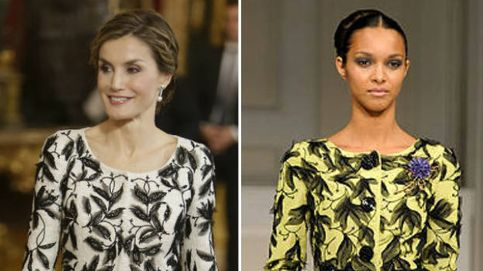 La polémica está servida: acusan a Varela de copiar un vestido a De la Renta