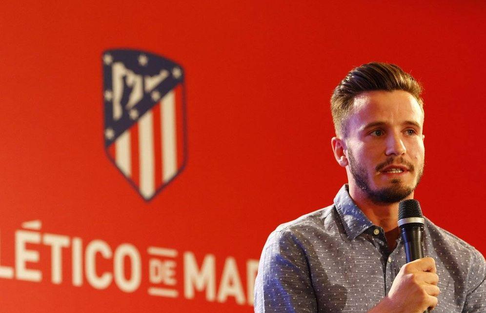 Foto: Saúl ha renovado con el Atlético de Madrid hasta 2026. (www.atleticodemadrid.com)
