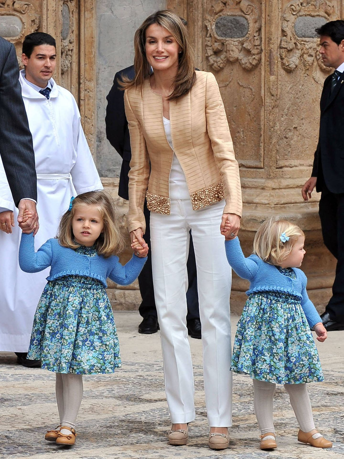 La Reina, en Mallorca en 2009. (Gtres)