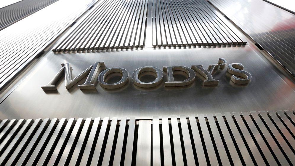 Foto: Logo de Moody's en Nueva York. (Reuters)