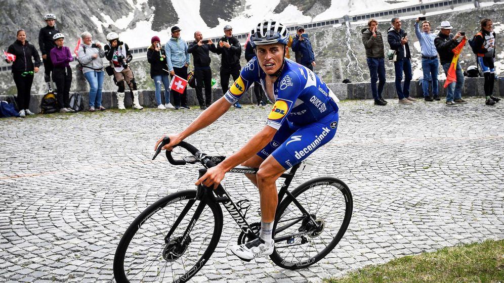 Foto: Enric Mas, durante la pasada Vuelta a Suiza. (EFE)
