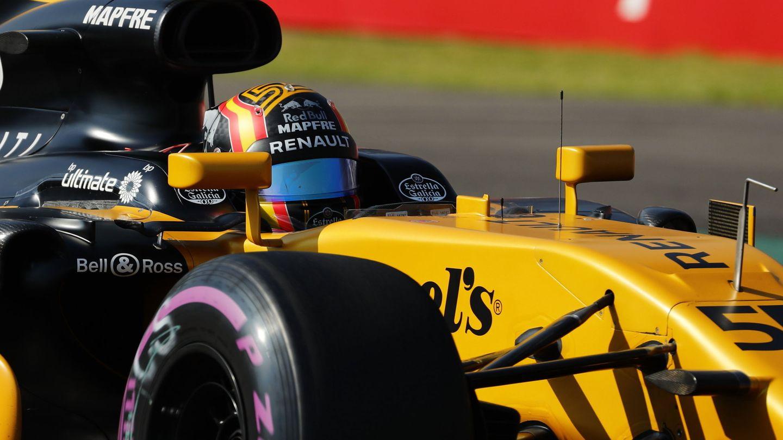 Carlos Sainz afronta su tercera carrera como piloto de Renault, la penúltima de la temporada 2017. (EFE)