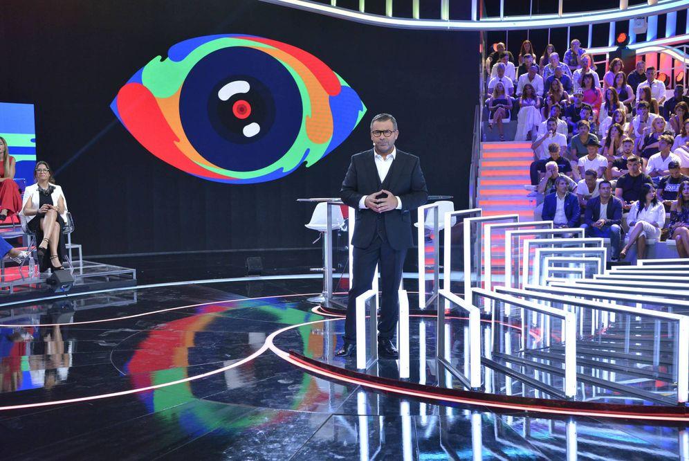 Foto: Jorge Javier Vázquez en el plató de 'Gran Hermano', de Telecinco. (EC)