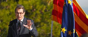 Foto: Artur Mas ve prácticamente imposible la mayoría absoluta el 25-N
