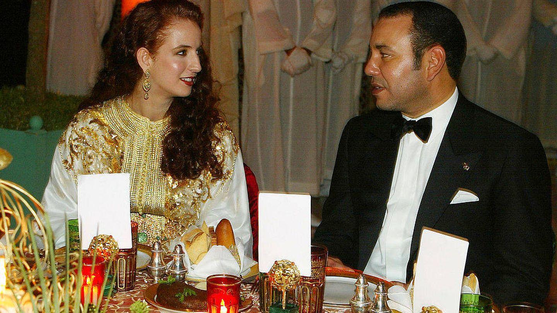 Lalla Salma y Mohamed VI, en una imagen de archivo. (Getty)