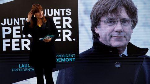 Puigdemont pidió a Borràs apartarse del Govern y que presida el Parlament