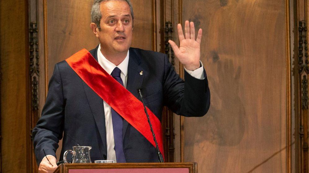 Foto: Forn en la sesión constitutiva del Ayuntamiento de Barcelona. (EFE)