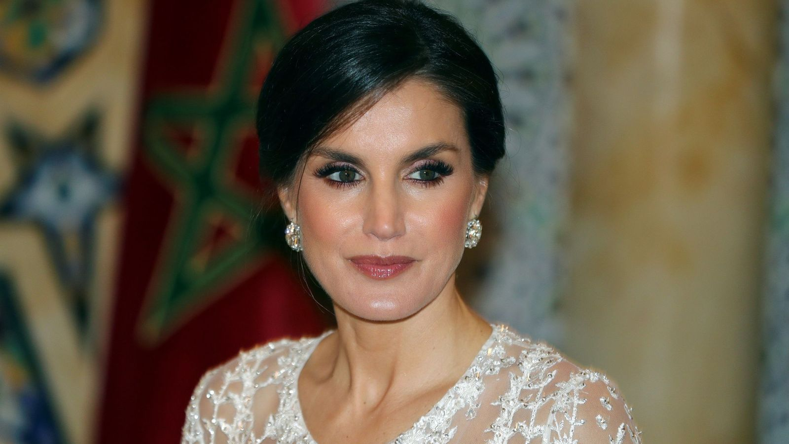 Foto: La reina Letizia en Marruecos. (EFE)